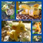 2013 Disney Baby Simba w/Blanket by DoloAndElectrik