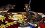Sora vs Heartless Raptors 2 by ares12