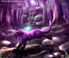 Enchanted Forest by Xanthocephalus