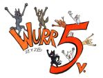 Half a decade of Wurr by Paperiapina