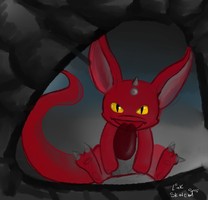 Day 236 - Dragon In The Cave by LinkSketchit