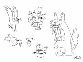 Dipster Doodles by TheIransonic