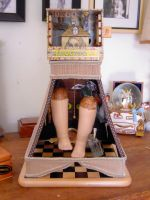 Alice Assemblage FallingApart1 by claudiamm37
