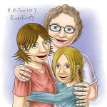 Gladys, Anna and Mira by RiverKpocc