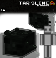 JurassiCraft: Tar Slime by Dragonith