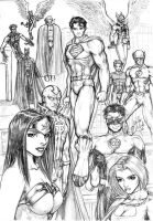 justice league by MikeNick