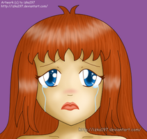 Sad Izka- STYLE TEST2 by izka197
