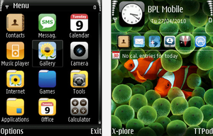 TheBest iPhone Theme for S60v3 by ivan92ivanov
