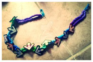 DDR kandi chain by BBEEAARR