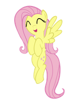 Fluttershy vector by MasterMcnugget