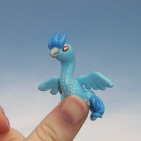 Articuno ''Thumb'' Pokemon by KingMelissa