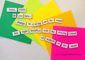 The Daily Magnet #167 by FridgePoetProject
