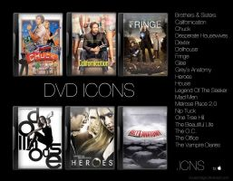 Series DVD Icons 2: icns by boule2neige
