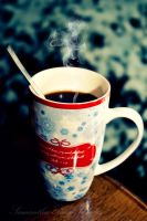 Coffee on a winters day by SamanthaPaigeImages