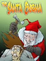 Santa Enigma Chapter 3 cover by Raikoh101