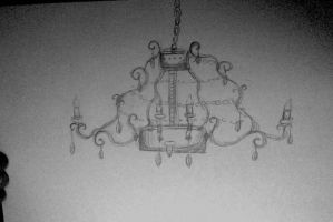 I Honestly Drew A Chandelier by GrimKreaper
