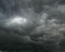Sky - heavy clouds 2 by dractus-stock
