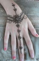 Henna Hand Jewelry by flowerwills