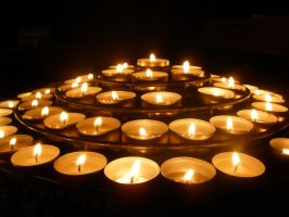 Candles In Paris by rose134265
