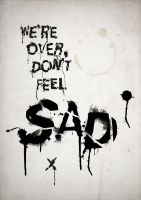 Typographic Emotion  - Sad by Enn-SRSBusiness