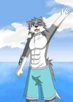 Wing Wolf - Over here, you come back~ :D by wingwolf88