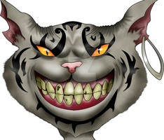 Always smiling - cheshire cat by ergoproxy92