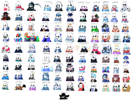 Boatload of Sans by Pudp0n