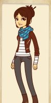 Hipster Girl ~ Michelle by MiniatureBlueOwl