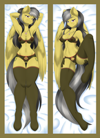 Daring Do Dakimakura - lingerie by itsuko103