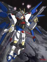 Myself in Strike Freedom Armor by prime92