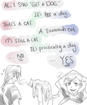 Al Gets A Cat Again by Equestrian-Equine