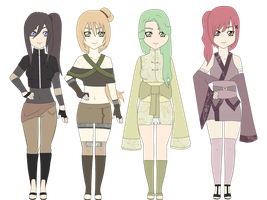 Naruto Adoptables #22 -Closed- by SicklySatisfied