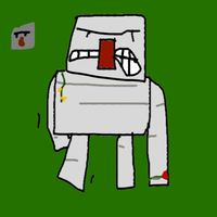 I is for Iron Golem by randomman55
