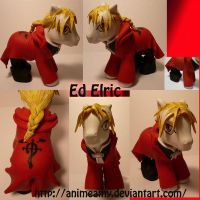 Edward Elric by customlpvalley