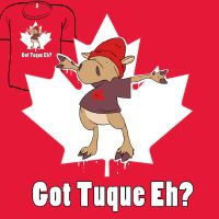 Woot Shirt - Got Tuque? by fablefire