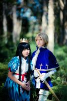 In the forest... by itakoaya