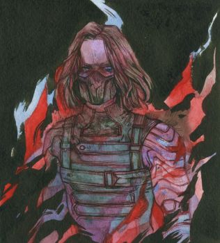 Winter Soldier by DaryaSpace