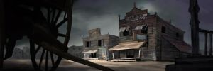 Ghost Town by xxmugigawaxx