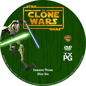 Star Wars The Clone Wars S3 D6 by Mastrada101