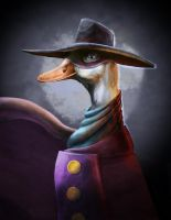 Darkwing Duck by Stilltsinc
