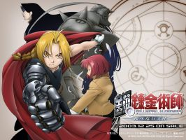 Full Metal Alchemist BG by Sacara