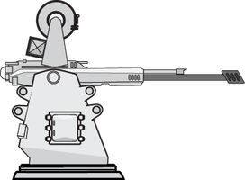 Rapier 25mm Defense Autocannon by Afterskies