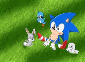 Animal Friends by Lucky-Sonic-77-d