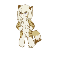 ych chibi commission - Nyakittyx3 by DesmodiaDesigns