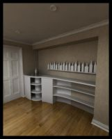 Storage +liquor cabinet design by Cubiclegangster