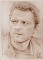 Misha Collins by LiLen