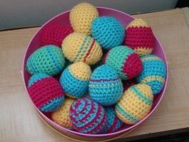 Easter eggs by Lass-Samantha