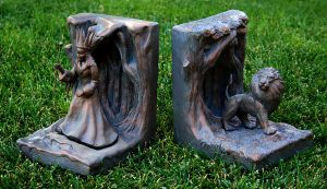Chronicles of Narnia Bookends by TimBakerFX