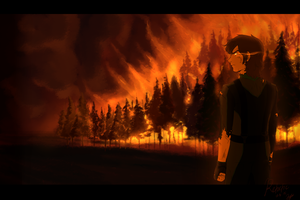 Forest Fire by Retortic