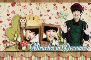 [ FREE SI] Miracles in December - EXO Chanyeol by JulieMin